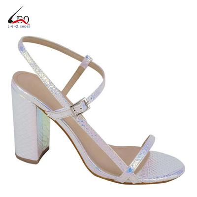 Thick Heel Sandals  Girls High Heel Shoes With Thin Belts For Pretty Beauty And Best Price