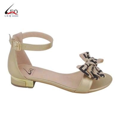 Newest Fashion Ladies Sandals Flat Heel Thick Heel With 1 Inch Height Sandals Women's Casual Flat Sandals With Best Price Manufactory