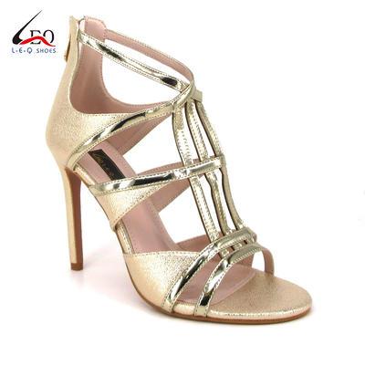 Newest Fashion Ladies Shoes Elegant High Heel Sandals