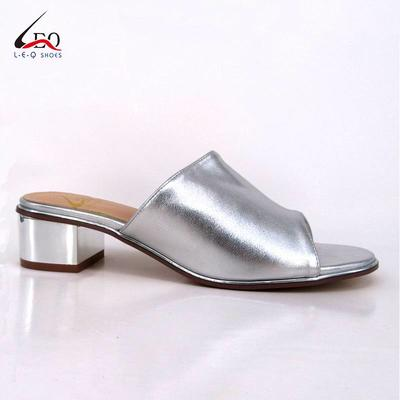 Wholesale Low Heel Slipper Flat Upper For Women Made in China